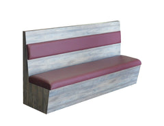 "Laminated Box w/ 6""  BACK PAD - Absolute Seating -restaurant seating expert"
