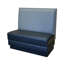 "Three-Channel Back $270.00/36""Hx48""L - Absolute Seating -restaurant seating expert"