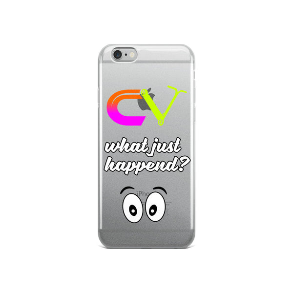 What Just Happend' iPhone Case