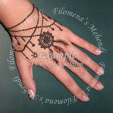 Sessão de Henna 15 minutos / Henna Session 15 minutes