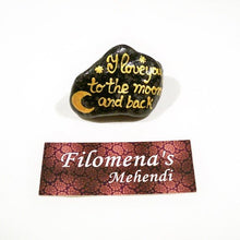 Love word, Love you, Word stone, Love words, Love sign, Girlfriend gift, Love you to the moon, Wife gift, Love you moon, Moon and back