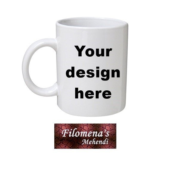 Custom mug, Funny mugs, Coffee mug, Unique birthday gift, Your picture here, Design your own mug, Your slogan here, Bridesmaids gift