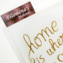 Home is where the heart is, Henna on canvas, New House Gift, Our first home, House warming gift, New Homeowner, Rustic art, Wall sign