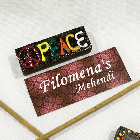 Cute incense holder, Hippie decor, small incense holder, Yoga studio decor, Wicca, Spirituality, Ethnic decor, Bohemian decor, India decor