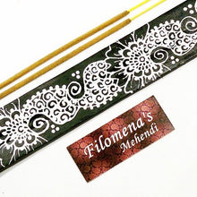 Incense holder, Incense, Incense burner, Meditation, Zen, Incense stick holder, Wooden, White Paisley, Yoga decor, Altar, Spiritual decor