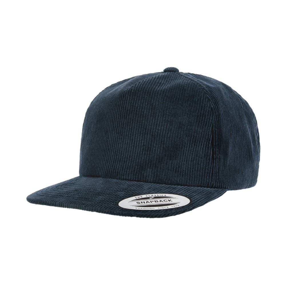 ABDS COURDROY SNAP BACK BLUE