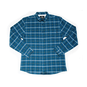 ABDS FLANNEL BLUE