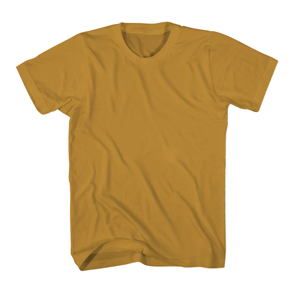ABDS MENS COTTON MUSTARD CREW NECK - Anderson Bros Design and Supply