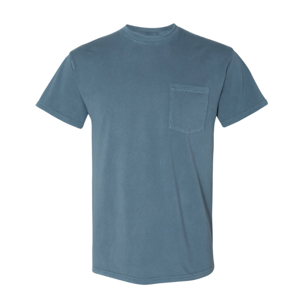 ABDS OVERDYE POCKET TEE SKY BLUE - Anderson Bros Design and Supply