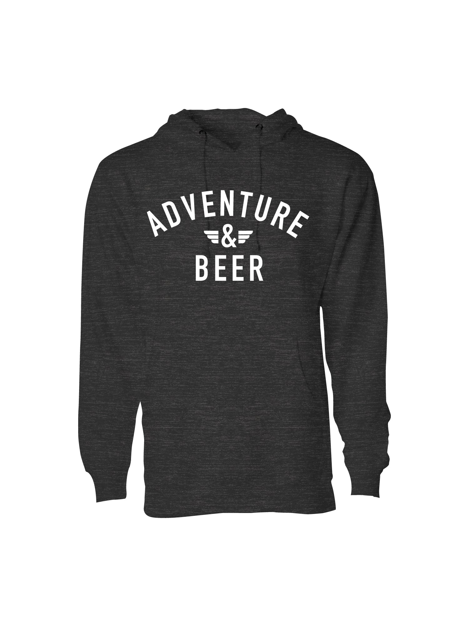 ADVENTURE AND BEER PULL OVER- CHARCOAL
