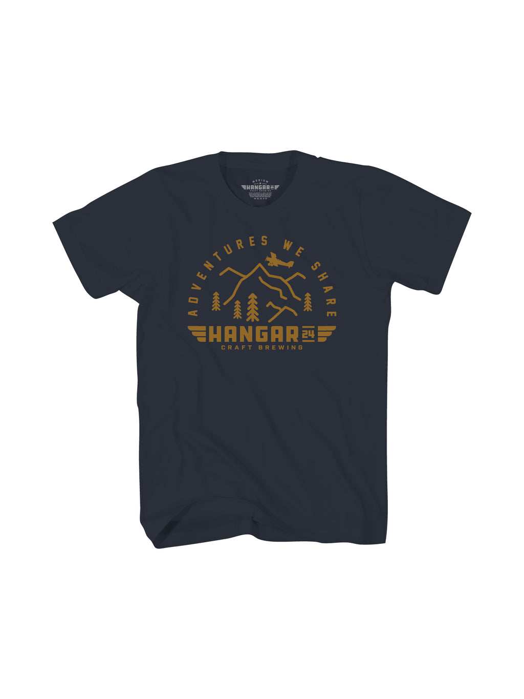 ADVENTURE WE SHARE MENS TEE- NAVY - Anderson Bros Design and Supply