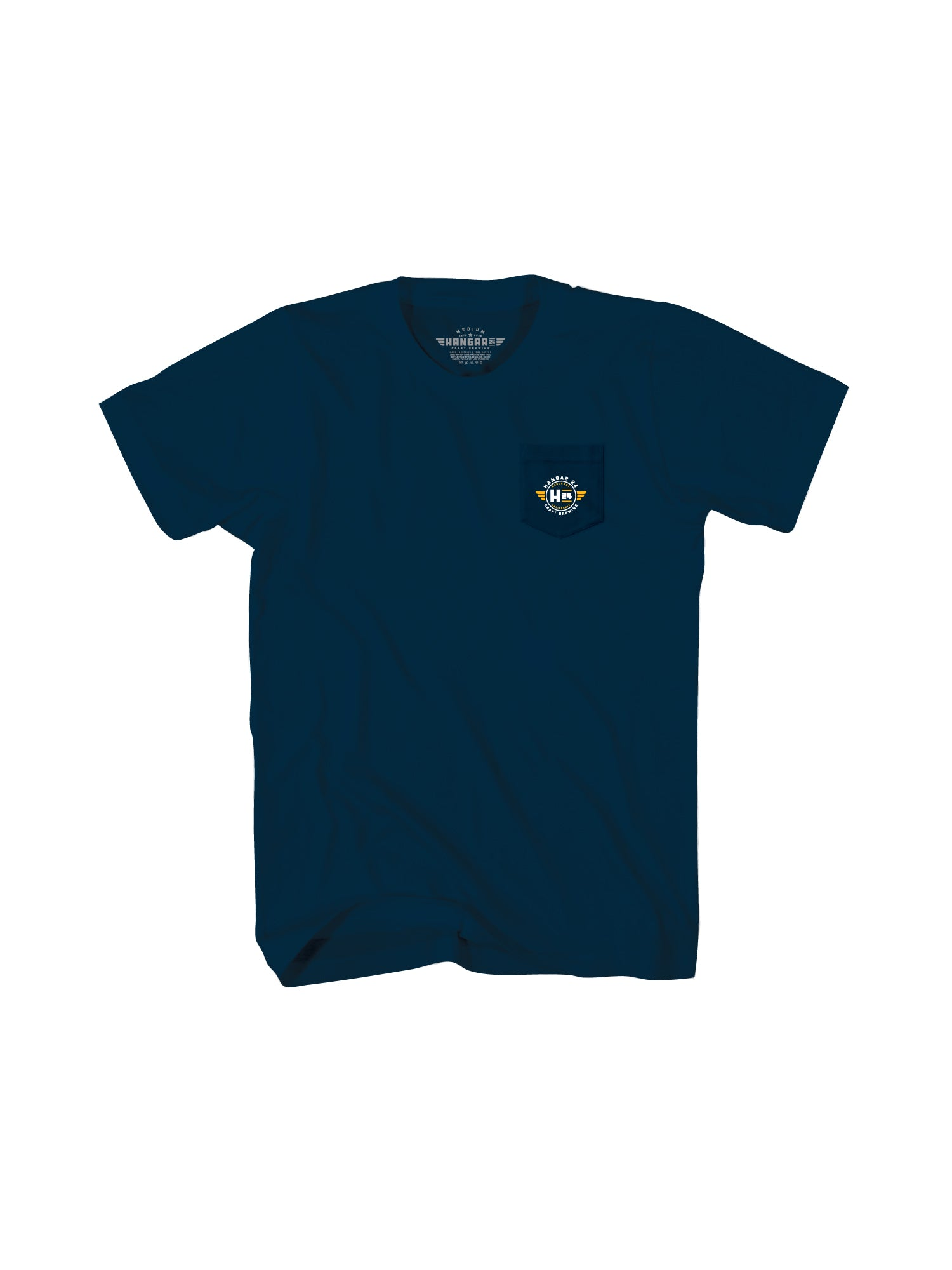 HANGAR RED LANDS MENS TEE- NAVY