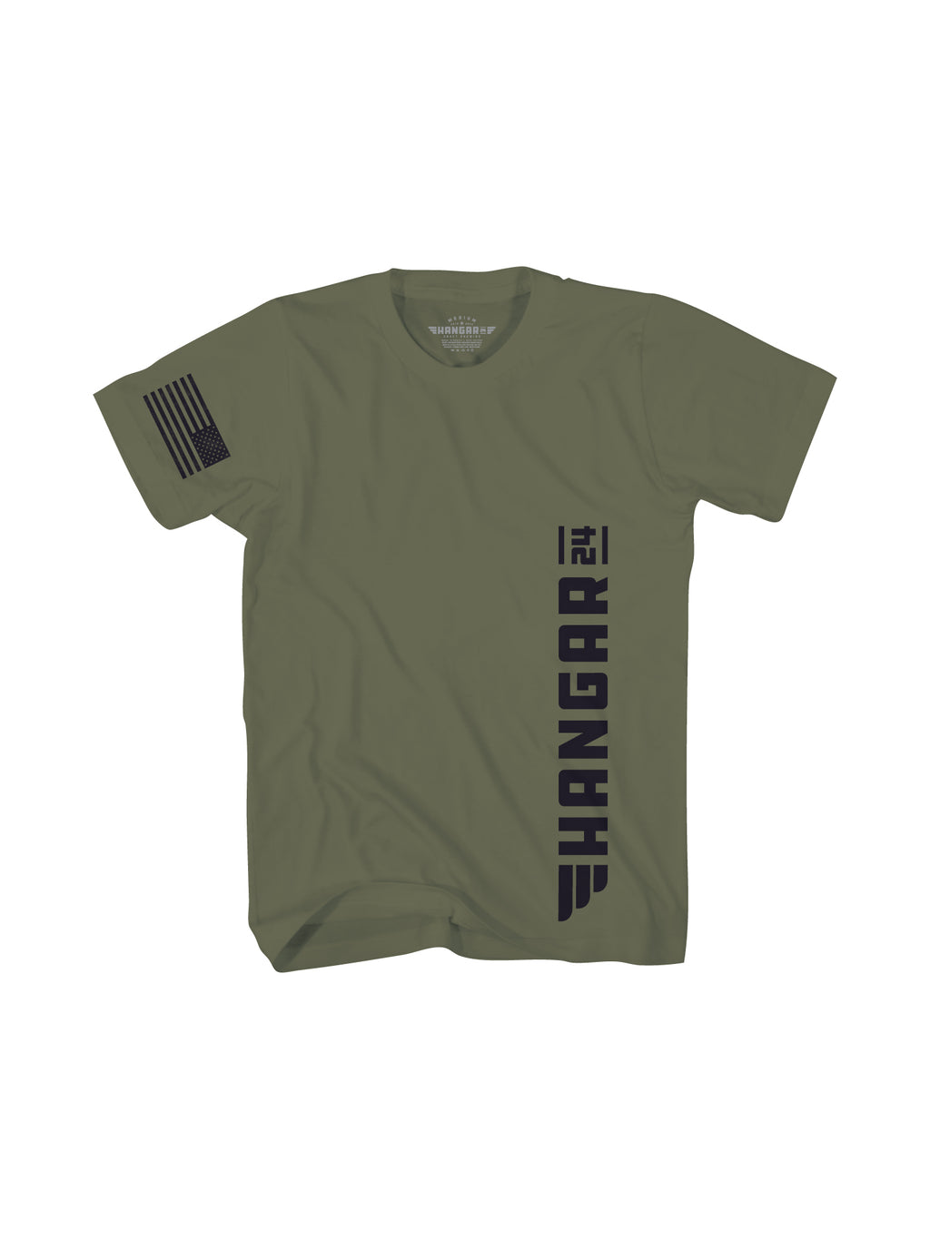 HANGAR 24 MENS TEE- MILITARY - Anderson Bros Design and Supply