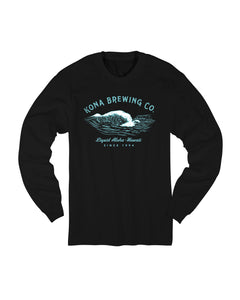 KONA FOAM WAVE L/S- BLACK - Anderson Bros Design and Supply