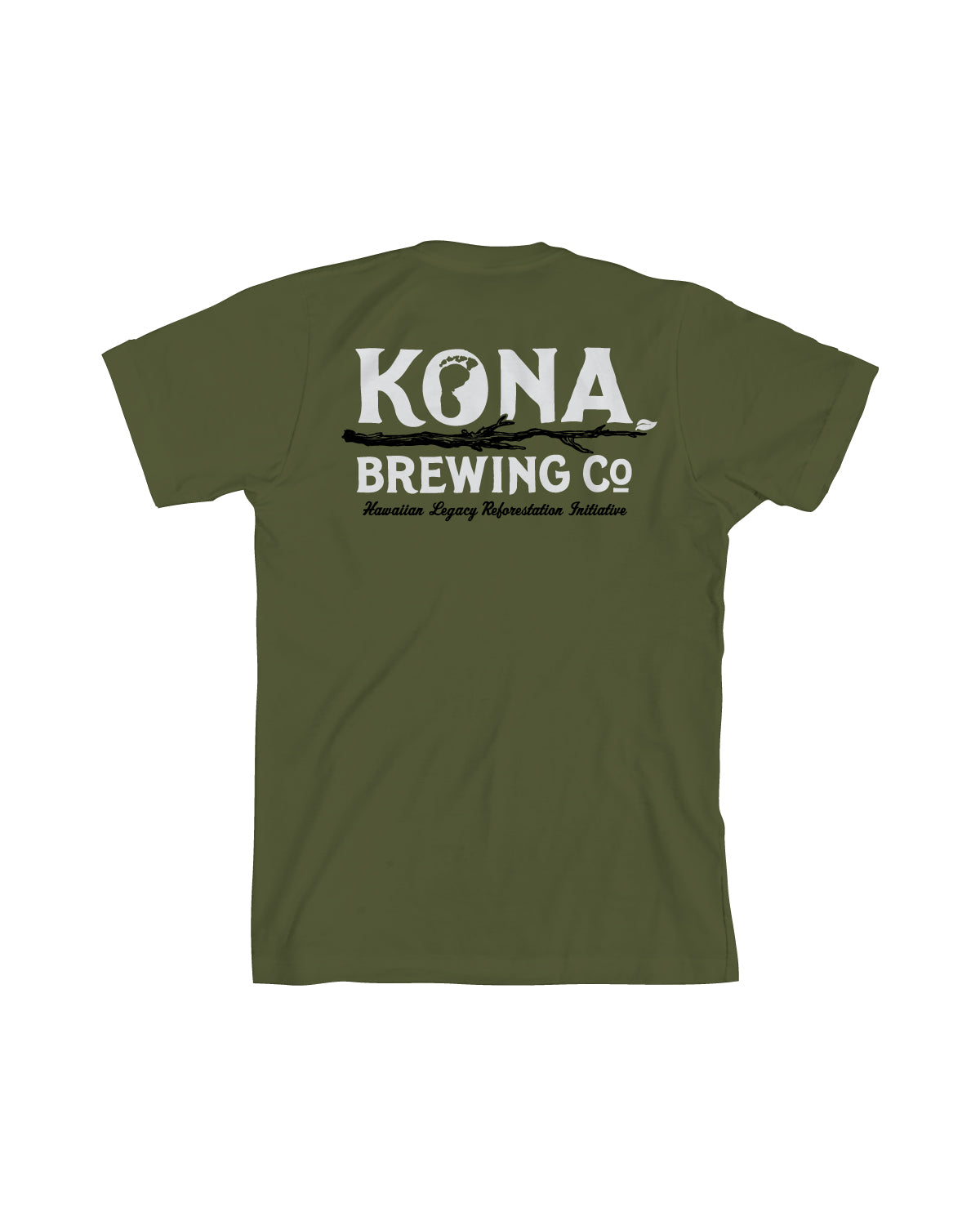 KONA HLH MEN TEE- ARMY