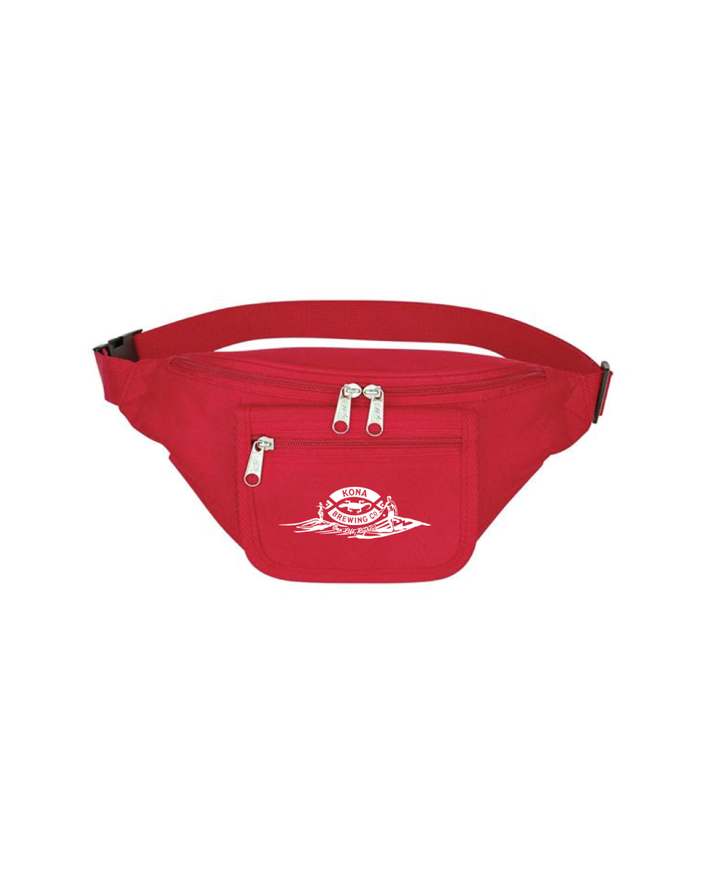 KONA ONE LIFE RIGHT FANNY PACK- RED - Anderson Bros Design and Supply