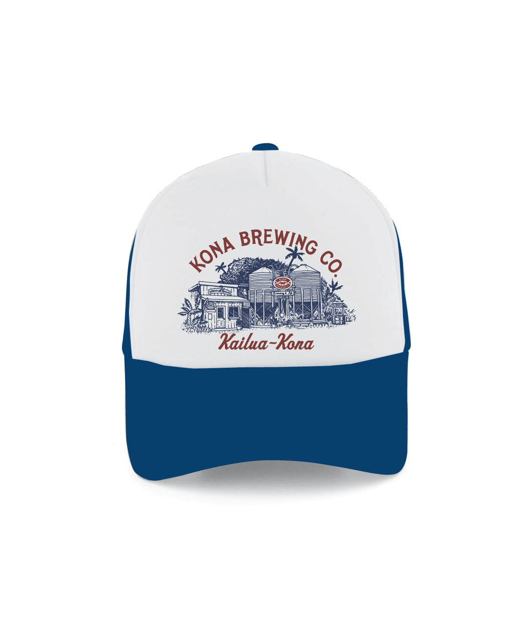KONA SILO TRUCKER HAT- ROYAL - Anderson Bros Design and Supply