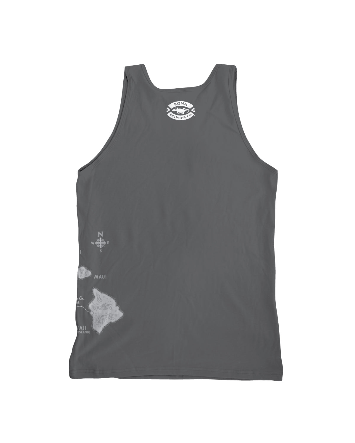 KONA SURFER GIRL TANK TOP- GRAY