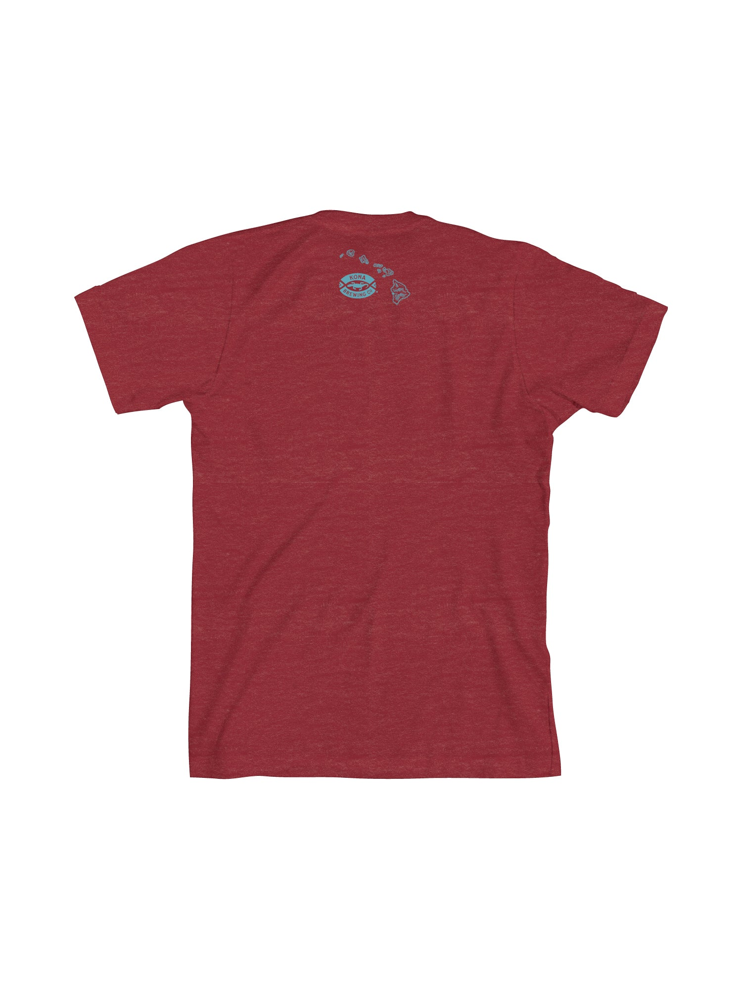 KONA LIQUID ALOHA MEN TEE- RED - Anderson Bros Design and Supply