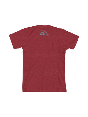 KONA LIQUID ALOHA MEN TEE- RED