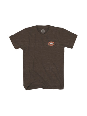 KAILUA KONA MEN TEE- BROWN - Anderson Bros Design and Supply