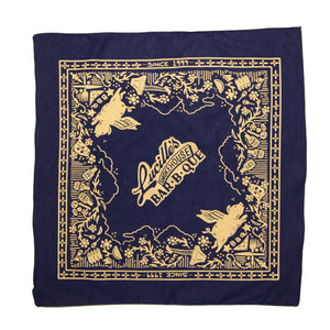 Lucille's Anniversary Bandana - Blue