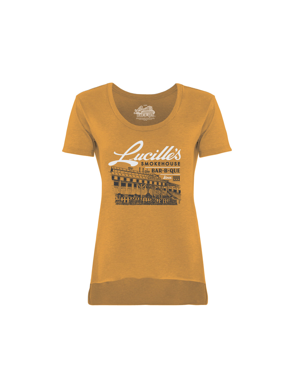 ILLUSTRATION WOMEN TEE (GOLD) - Anderson Bros Design and Supply