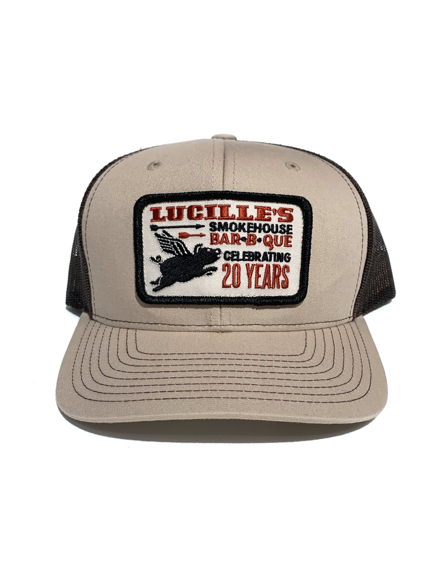 20 years Hat - Tan/brown