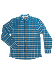 ABDS FLANNEL BLUE - Anderson Bros Design and Supply