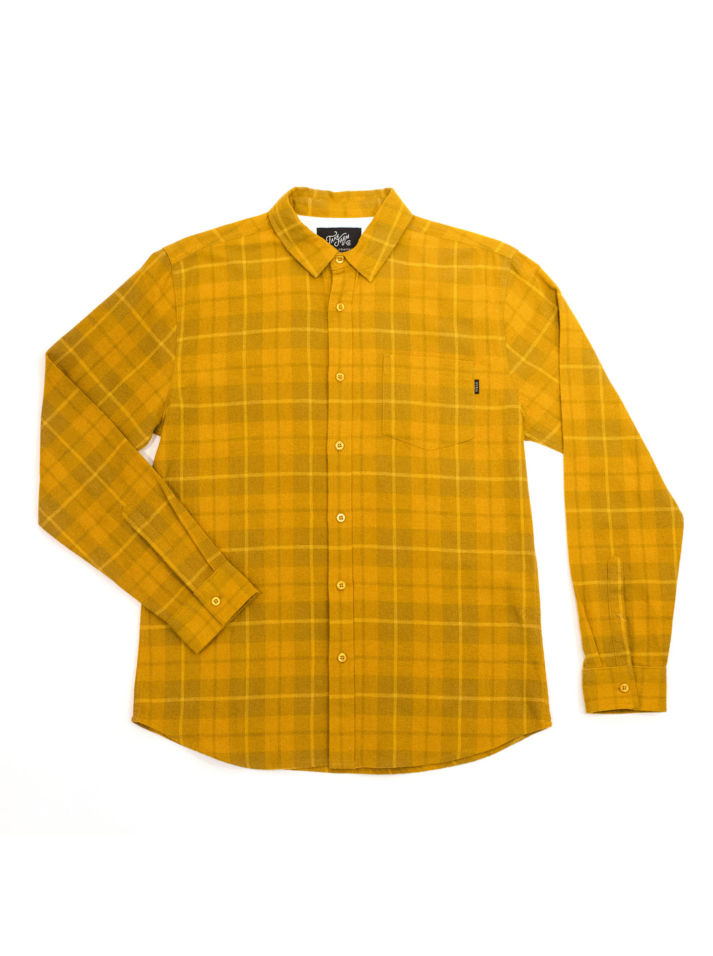 ABDS FLANNEL YELLOW - Anderson Bros Design and Supply