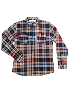 ABDS FLANNEL MAROON - Anderson Bros Design and Supply