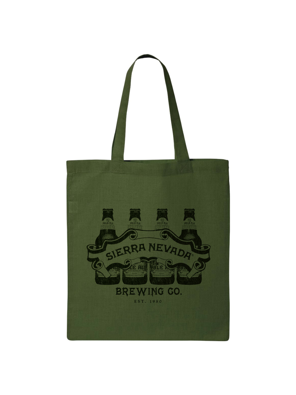 TOTE BOTTLE LINE BAG- ARMY