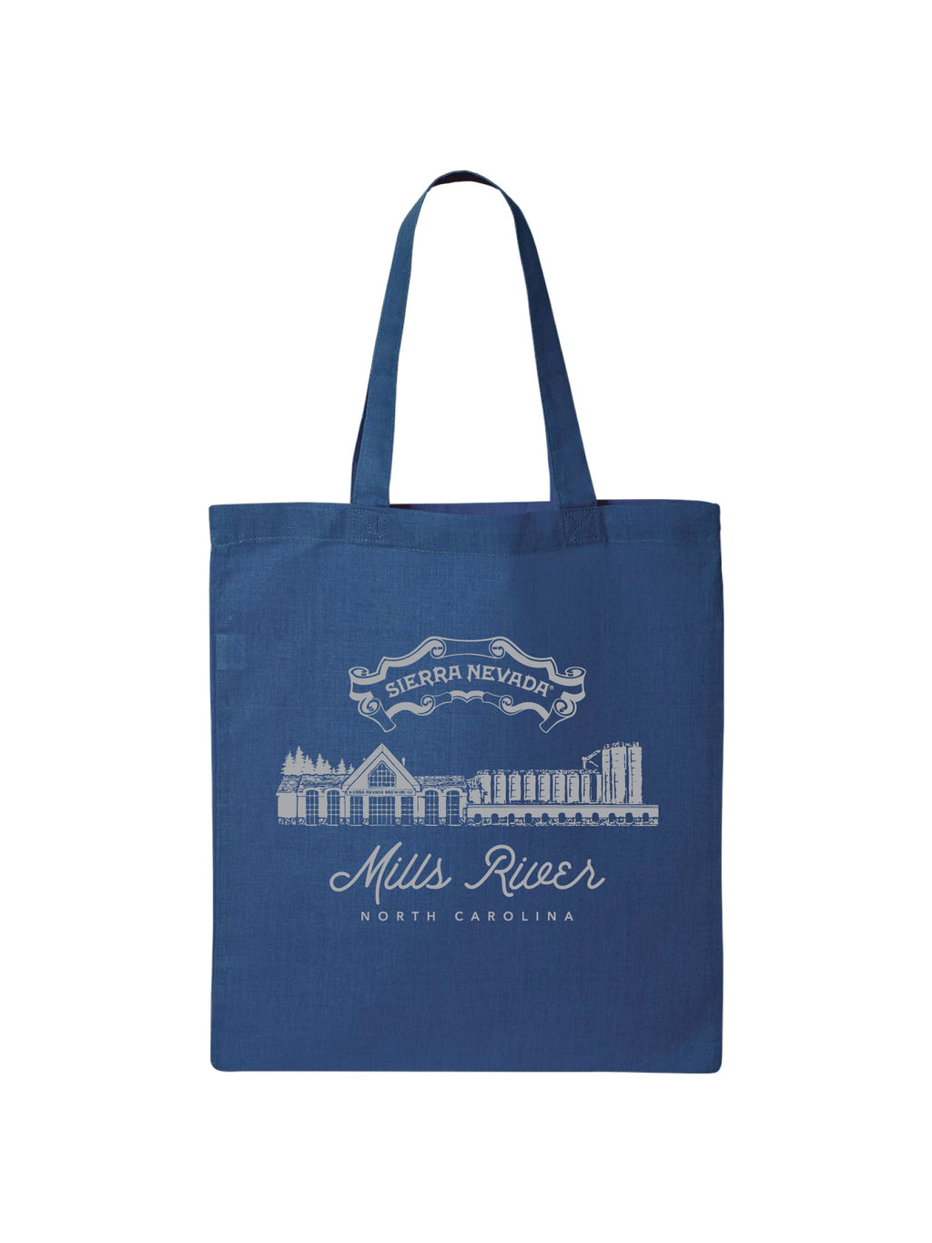 TOTE MILLS RIVER BAG- ROYAL