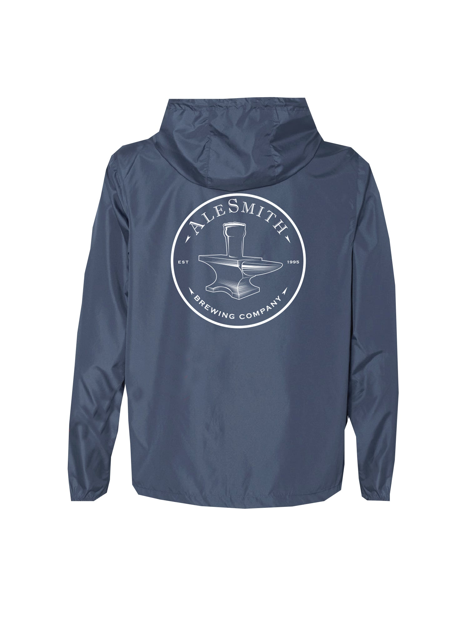 Ale Smith Circle Stamp WInd Breaker- Blue