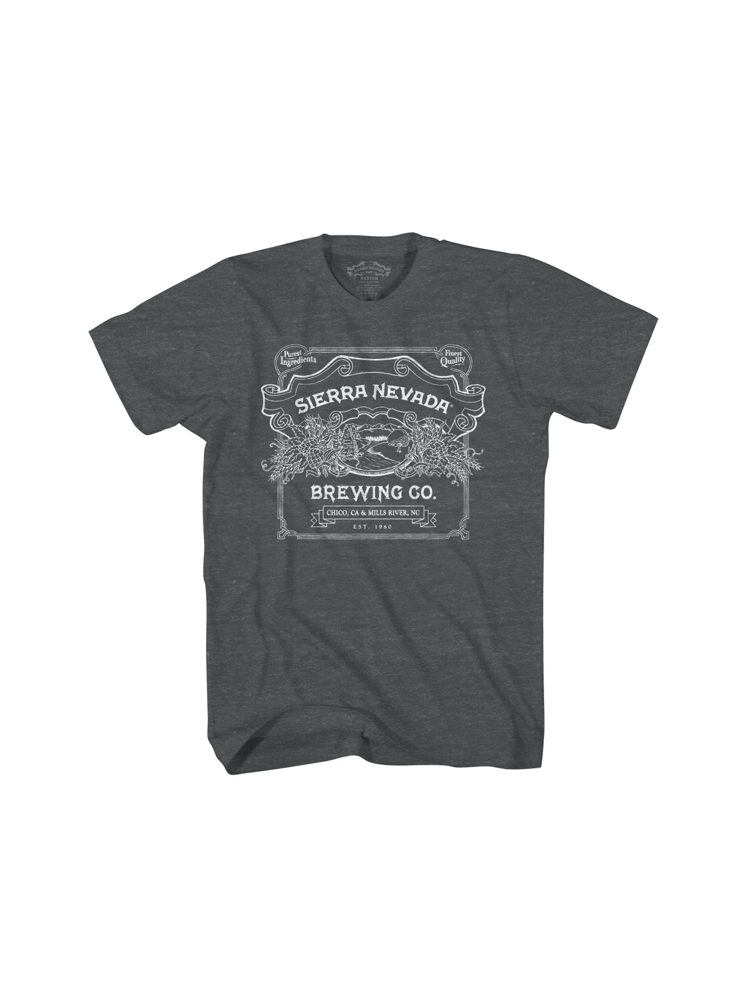 HANDCRAFTED S/S TSHIRT- CHARCOAL - Anderson Bros Design and Supply
