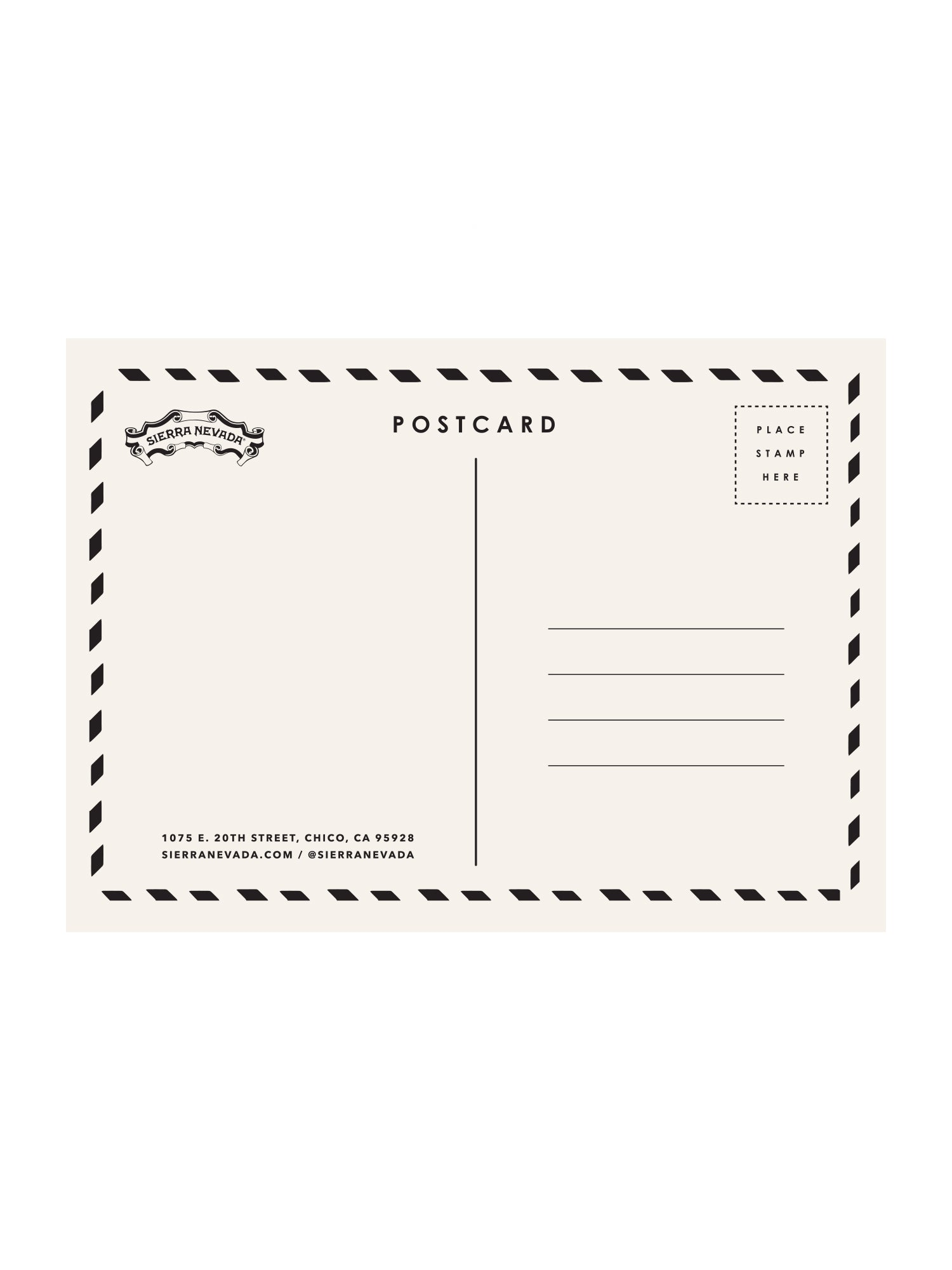 POST CARD- CHICO - Anderson Bros Design and Supply