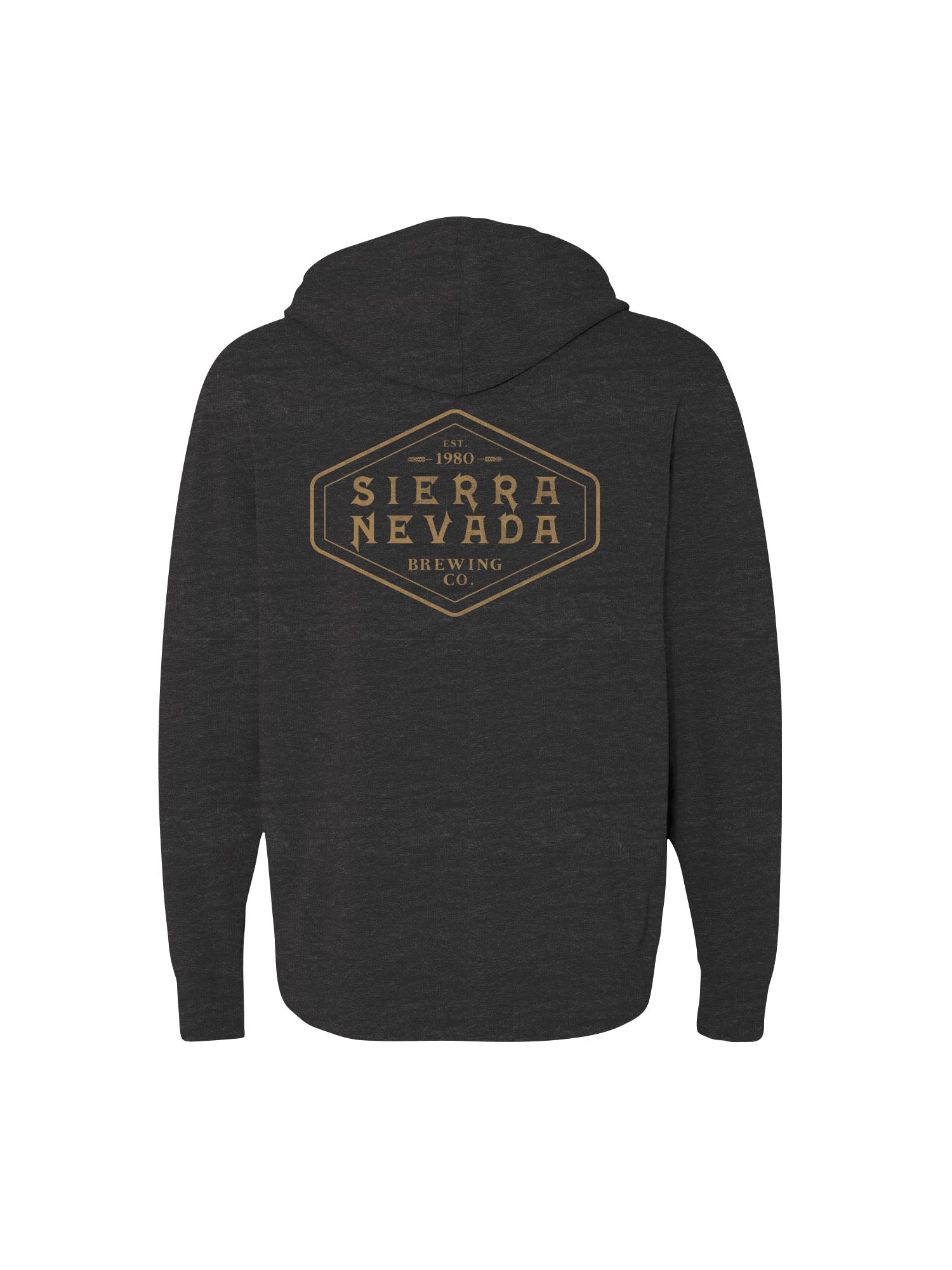 SHIELD ZIP UP- CHARCOAL BLACK