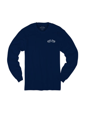SHIELD L/S- NAVY - Anderson Bros Design and Supply
