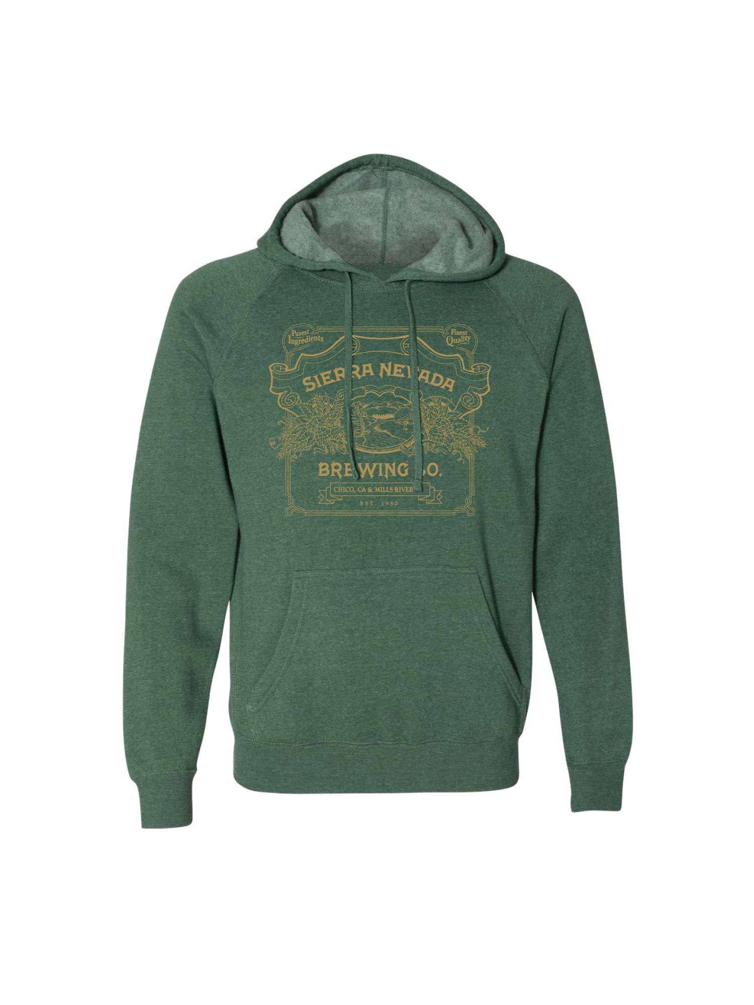 HANDCRAFTED PULL OVER- LIME GREEN - Anderson Bros Design and Supply
