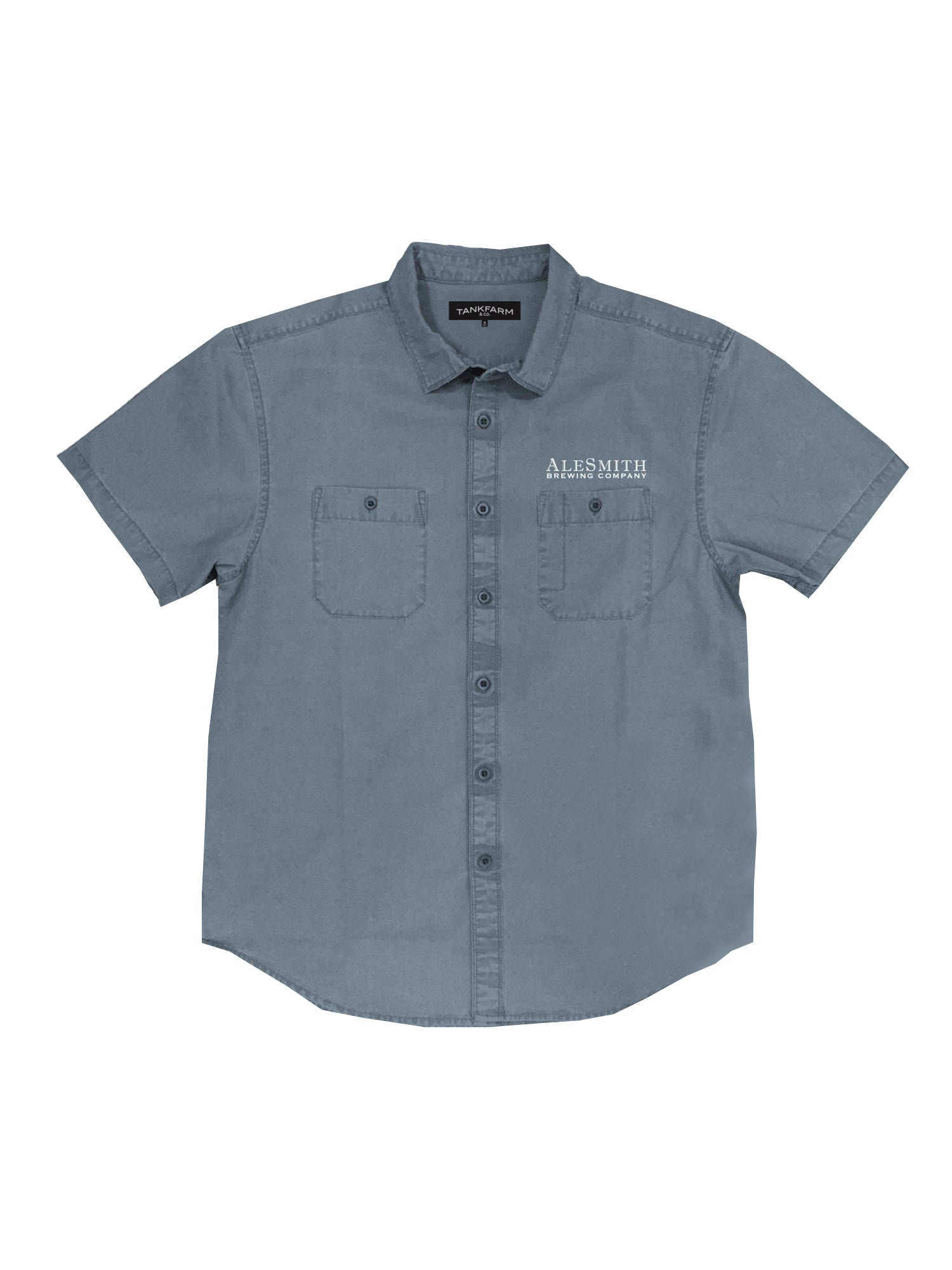 Ale Smith Work Shirt- Blue