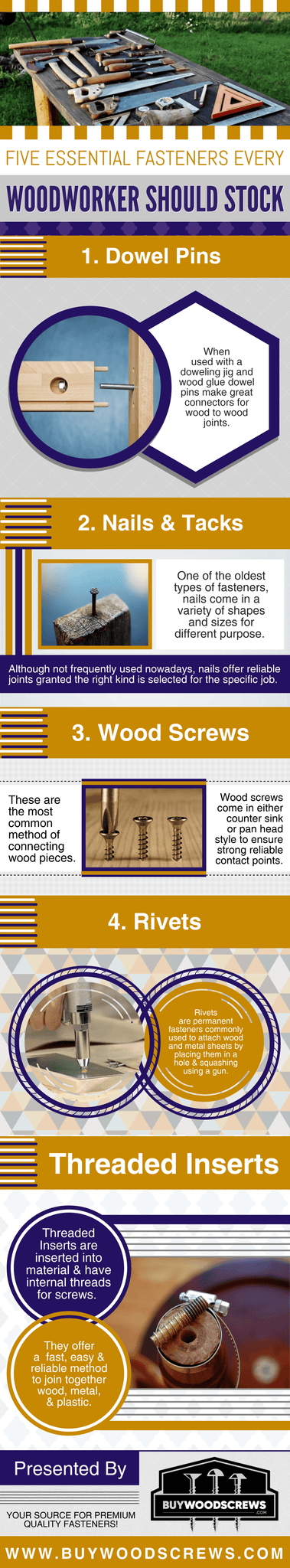Five Essential Fasteners Every Woodworker Should Stock