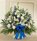 Tribute Blue & White Basket  Staring From $79.99 - $119.99