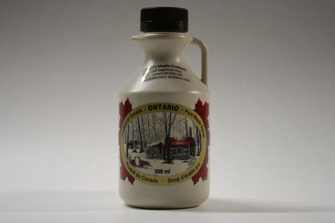 500 ml Plastic Jug - Maple Syrup