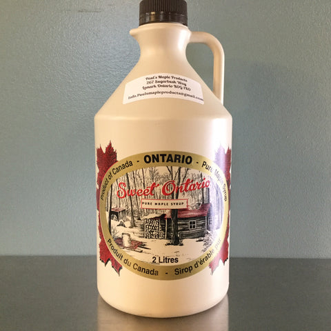 2L Plastic Jug - Maple Syrup