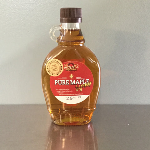 250 ml Glass Kent - Maple Syrup
