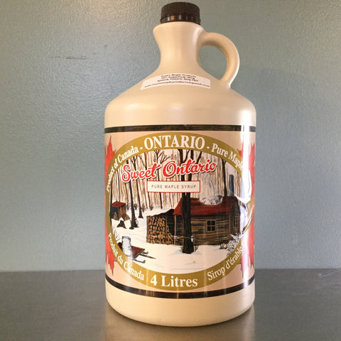 4 L Plastic Jug - Maple Syrup