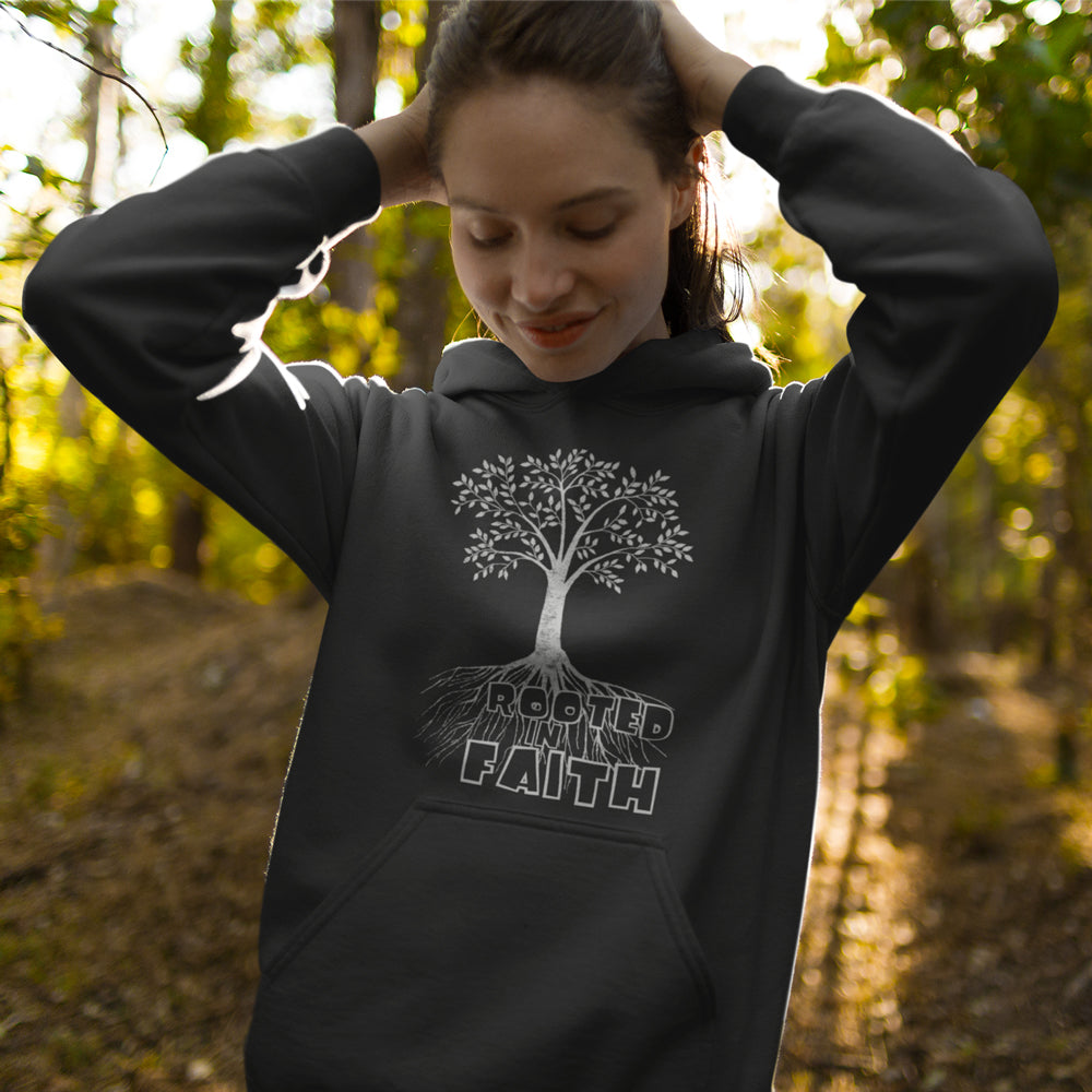 Rooted In Faith New - Christian Inspired T-Shirt, Hoodies, Long Sleeve Gifts and Apparel