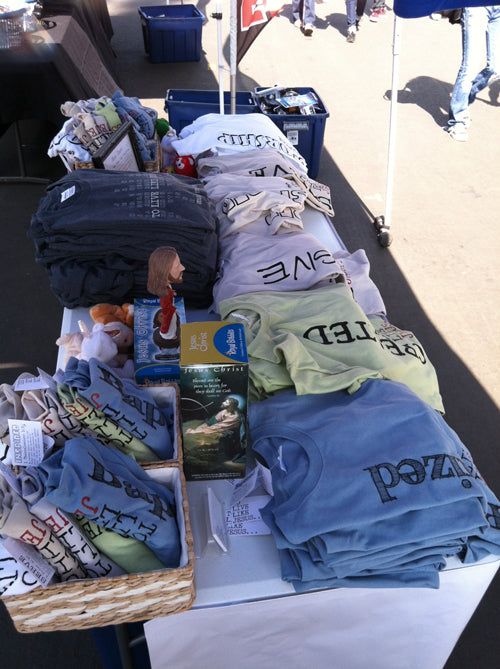 Rose Bowl Flea Market Sales Booth