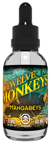 Twelve Monkeys -Mangabeys