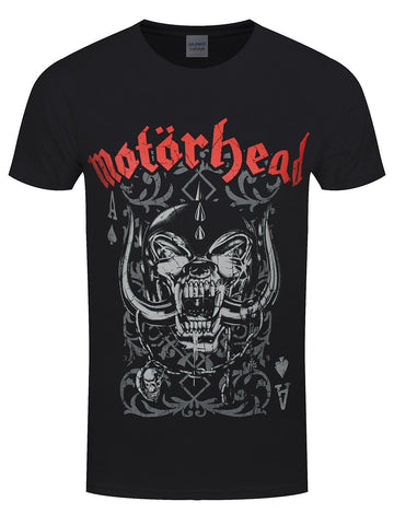 Motorhead Playing Card Official T-Shirt
